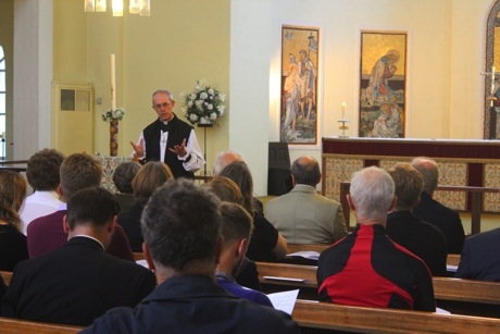 Archbishop Justin Welby commissions the Church Credit Champions at St George-in-the-East