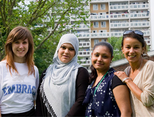 Near Neighbours projects have brought people from diverse backgrounds together.
