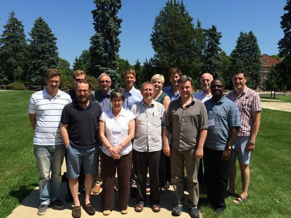 The team of Citizens UK Christian leaders from various denominations in Chicago