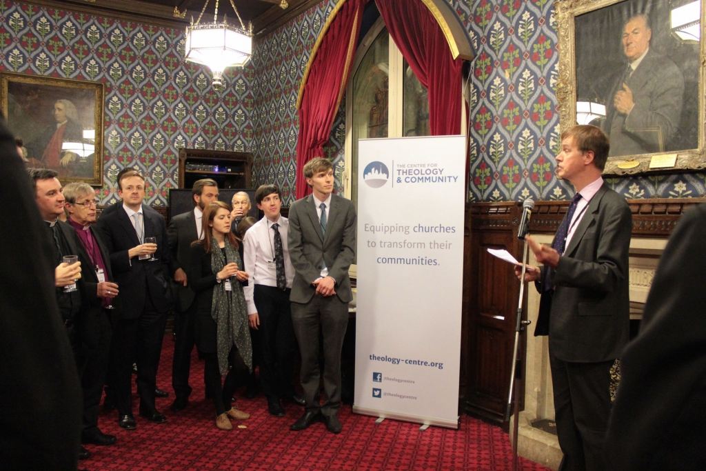 Stephen Timms MP welcomes us to Parliament