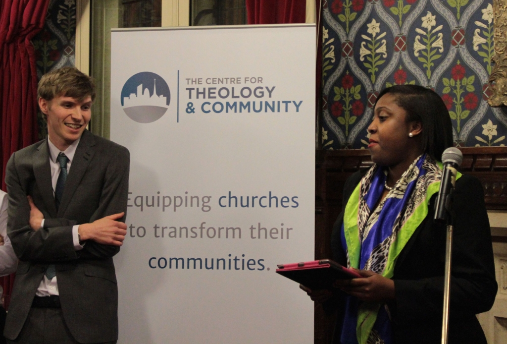 Rosina ST James is working with the Conservative Christian Fellowship and churches in Brixton