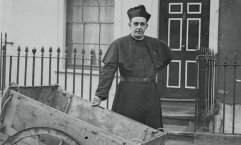 Fr Basil Jellicoe - one of our inspirations in working for better social housing provision